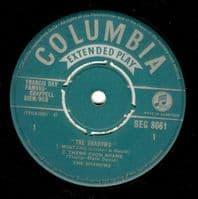 THE SHADOWS The Shadows EP Vinyl Record 7 Inch Columbia 1961